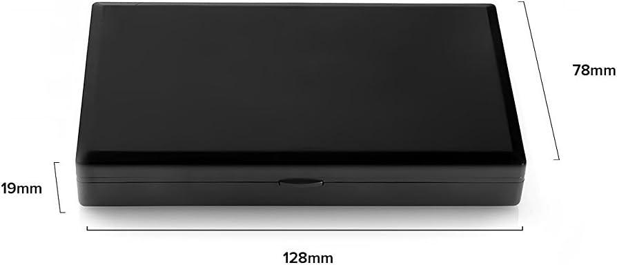 multifunktional Wedding Decor Digitale Taschenwaage mit Hintergrundbeleuchtung LCD-Display Kapazit/ät 0,01-1000 g leicht schwarz