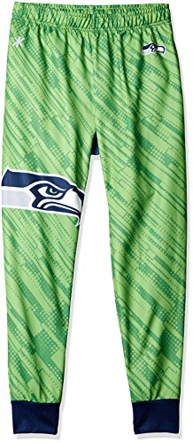 Seattle Seahawks Polyester Mens Jogger Pant Double Extra Large