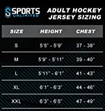 Sports Unlimited Adult Hockey Practice Jersey for