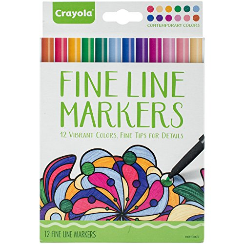 Crayola Coloring Markers Contemporary Colors