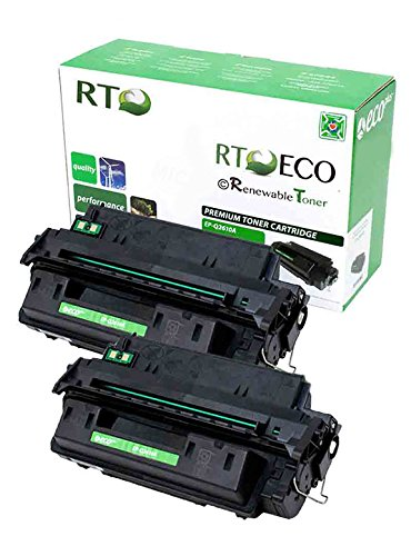 Renewable Toner 10A Q2610A Compatible Toner Cartridge 2-pack for HP LaserJet 2300 2300d 2300dn 2300dtn 2300L 2300n