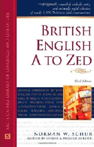 British English A to Zed: 3rd (Third) edition ebook