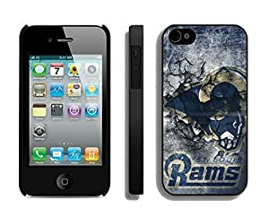 NFL St Louis Rams iphone 4 4S Casecell phone cases&Gift Holiday&Christmas Gifts NFIU8715721