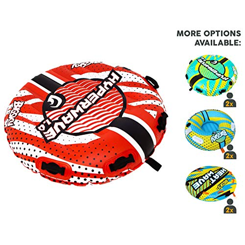 - Big Sky HyperWave 1.0 Towable Tube for 1 Person - Roomy, Durable Boating Tubes for Lake, Beach, River, Snow - Fun Watersports Towables - Quick Inflation and Deflation - One Person Boat Toys and Floats