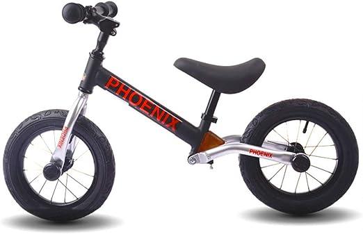 Bicicleta sin pedales Bici Bicicleta de Empuje Negra/Azul ...