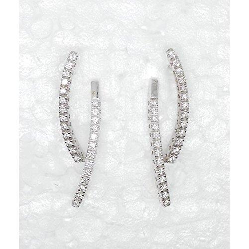 Boucles d'oreilles recarlo Femme ZP _ 531/B or diamant
