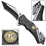POW MIA Bring 'Em Home Spring Assisted Knife, Outdoor Stuffs