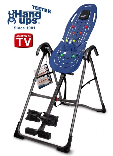 Teeter EP-560 Ltd. FDA-Cleared Inversion Table for back pain relief, 3rd-Party Safety Certified,...