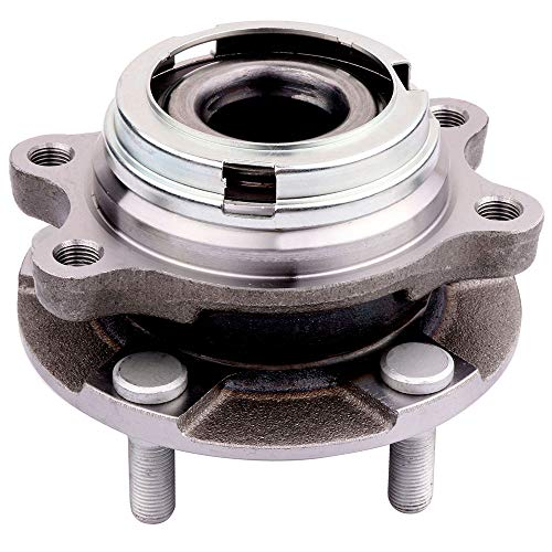 Hub and Bearing Assembly Replacement for fit TOYOTA PRIUS TOURING L4 1.5L 1497CC 1NZFXE ELECTRIC/GAS 2007-2009 Wheel Hubs 5 Lugs (1) ()