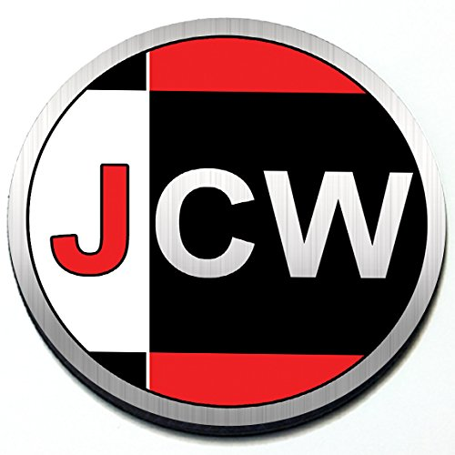 JCW John Cooper Works - Magnetic Grill Badge For MINI Cooper