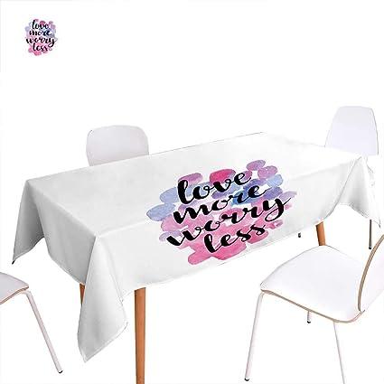 Admirable Amazon Com Familytaste Love Dinner Picnic Table Clothhand Download Free Architecture Designs Scobabritishbridgeorg