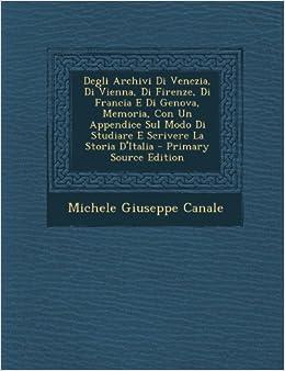 Degli Archivi Di Venezia f89064eeef14