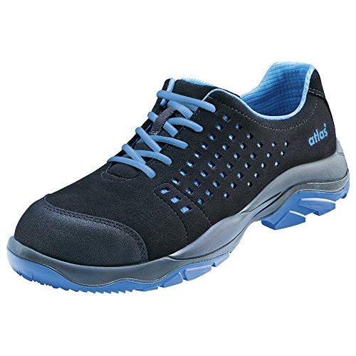 atlas Sicherheits-Halbschuh Sicherheits-Schuh Arbeitsschuh SL 405 XP - EN ISO 20345 S1P - blau - Weite: 12 - Größe: 46