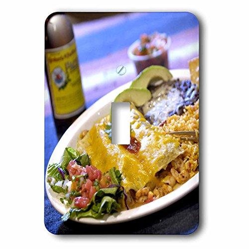 Danita Delimont - Cuisines - Shrimp Enchilada, Mexican cuisine Destin, Florida - US10 FVI0006 - Franklin Viola - Light Switch Covers - single toggle switch - Outlet Florida Destin