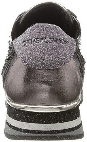 Crime London Women's 25526a17b Low-Top Sneakers Black (Schwarz) Fslcw