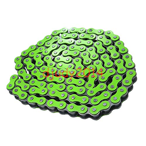 FidgetGear Modified Green 420 Pitch XL106 Link Motorcycle Dirt Pit Bike ATV Chain Drive