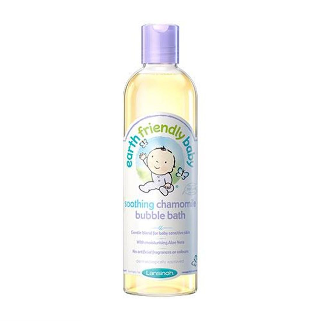 Earth Friendly Baby | Organic Chamomile Bubble Bath | 6 x 300ml
