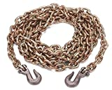 1/2'' x 20 Ft Grade 70 Chain with Grab Hooks PN: 10050-20