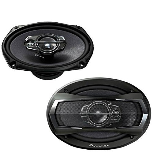 Pioneer TS-A6976S A Series 6″ X 9″ 550 Watts Max 3-Way Car Speakers Pair with Carbon and Mica Reinforced Injection Molded Polypropylene (IMPP) Cone Construction