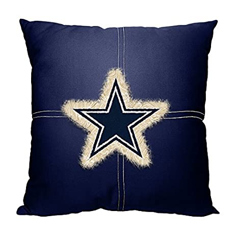 Northwest NOR 1NFL142000009RET 18u0026quot; X 18u0026quot; Dallas Cowboys NFL Team  Letterman Pillow
