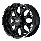 """Moto Metal MO959 Matte Black Wheel With Machined Accents (18x9""""/8x165.1mm, +12mm offset)"""