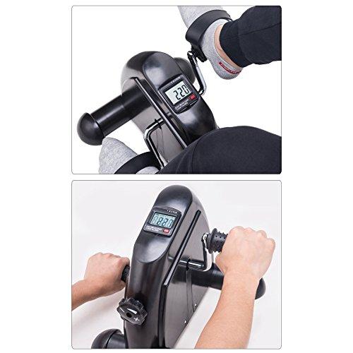 Pinty Mini Exercise Bike Pedal Exerciser Portable Cycle