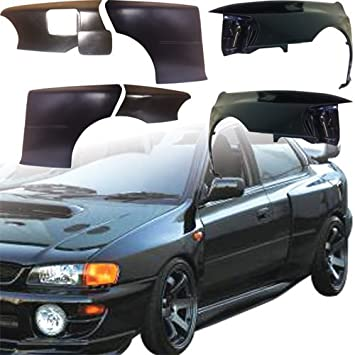 VSaero FRP LSPO 22B Wide Body Fenders Set 7pc > Subaru