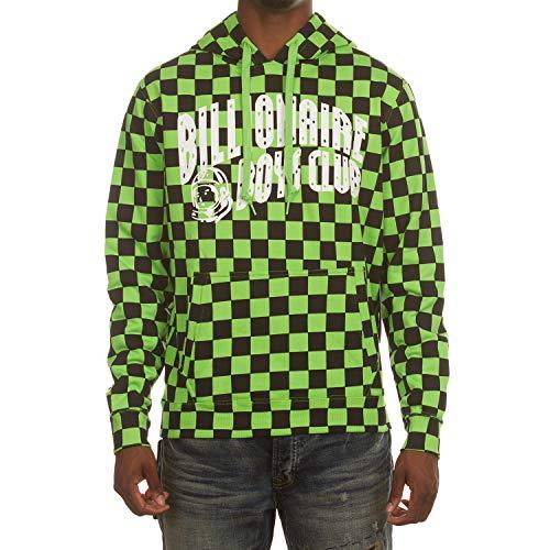 Grand Prix Hooded Sweatshirt - Billionaire Boys Club BB Grand Prix Hoodie in Green 881-7317 (Green, Medium)