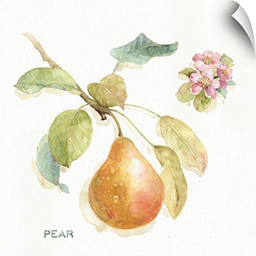Lisa Audit Wall Peel Wall Art Print entitled Orchard Bloom II 30