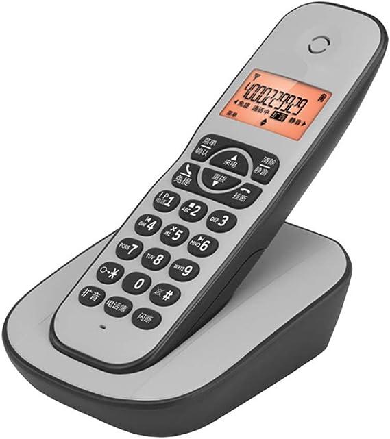 BJYG Teléfono inalámbrico para el hogar Tel con Molesto Interceptor de Llamadas y contestador Digital (Color: Gris 1): Amazon.es: Hogar
