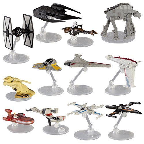 Hot Wheels Star Wars  Spaceship Models Toys Set Figures & St