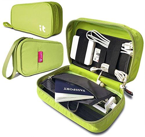 Amazon.com: Uinvent Travel Cord Organizer - Electronics Accessories Case &  Travel Electronics Organizer(Green): Cell Phones & Accessories