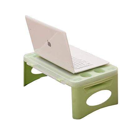 WZF Laptop Cama Mesa Escritorio Bandeja de Desayuno portátil de ...