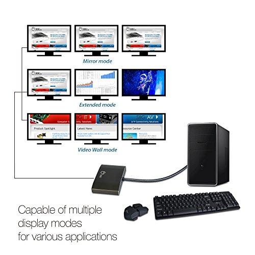 SIIG 3 Port DisplayPort to HDMI MST Hub 4K UHD 1x3 DP Muti Monitor...