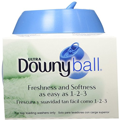 Downy Ball Automatic Liquid Fabric Softener Dispenser, (Pack of 8) Downy Fabric Softener Ball
