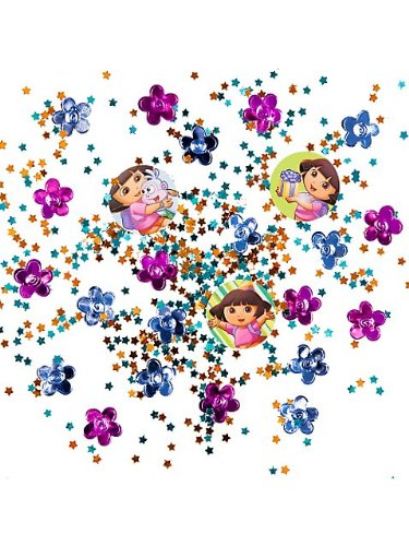 Dora the Explorer Value Confetti (Multi-colored) Party Accessory