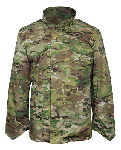 (Mil-Tec Men's Classic US M65 Jacket Multitarn size XXL)