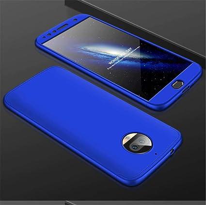 Joytag Funda Motorola Moto G5S Plus 360 Grados Azul Ultra Delgado ...