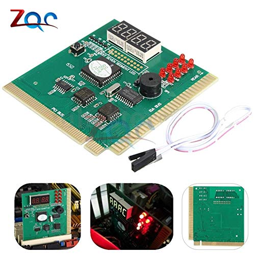 Pci Post Pc System - 4 Digit LCD Display PC Analyzer Diagnostic Card Motherboard Post Tester Computer Analysis PCI Card Networking Tools