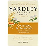 Yardley Oatmeal and Almond Bar Soap, 4.25 Ounce