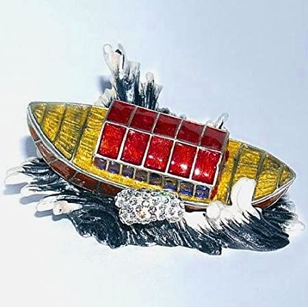 Noah's Ark Box Bible Swarovski Crystals Realistic Figurine