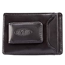 Big Skinny Men's Leather Magnetic Money Clip Wallet
