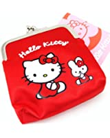 Wallet 'Hello Kitty' red.