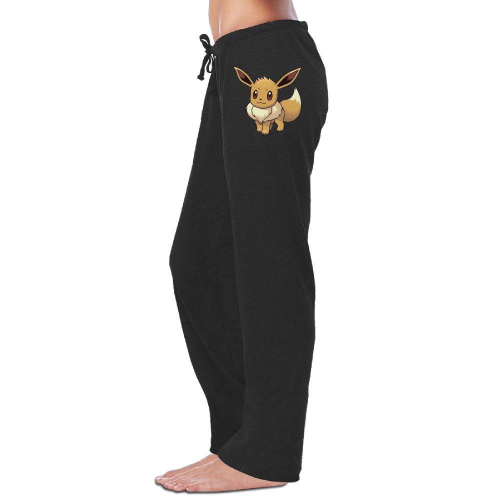 LowkeyNr1 Women's Pokemon Go Eevee Sweatpants