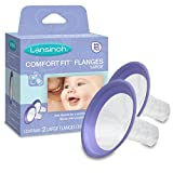 Health & Personal Care : Lansinoh Comfort Fit Flange - Large, 2 Count, BPA Free and BPS Free