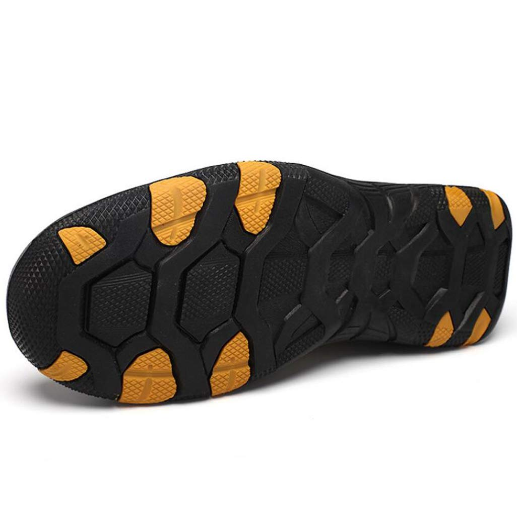 Color : Khaki, Size : 41 JBHURF Mens Breathable Summer Slip On Flat Loafers Lightweight Multifunctional Moccasins Shoes