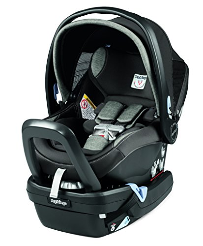 Peg Perego Primo Viaggio Nido Car Seat with Load Leg Base, Atmosphere For Sale