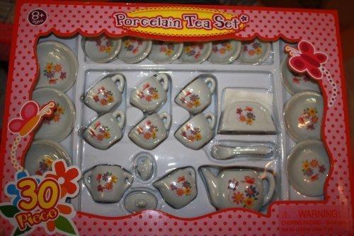 Porcelain Tea Set 30pc by Frenzy Toys