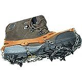 2x Anti-slip Ice Cleats Shoe Boot Tread Grips Traction Crampon Chain Spike Sharp Snow Walking Walker