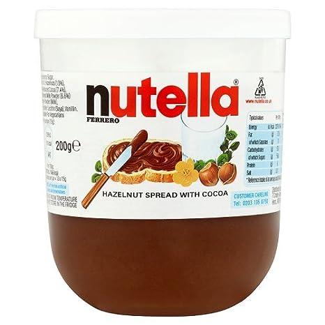9af70e1aa3 Nutella Ferrero Gr.200: Amazon.it: Alimentari e cura della casa